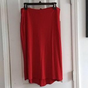 L Gap Stretch Skirt